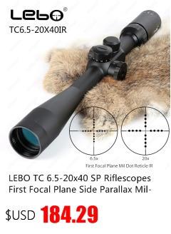 Kandar 6-18x56q primeiro plano focal caça riflescopes