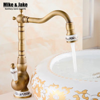 2015 Bathroom Antique Tap Basin Faucet Vintage Kitchen Sink Tap Brass Tap Torneira Banheiro Basin Mixer