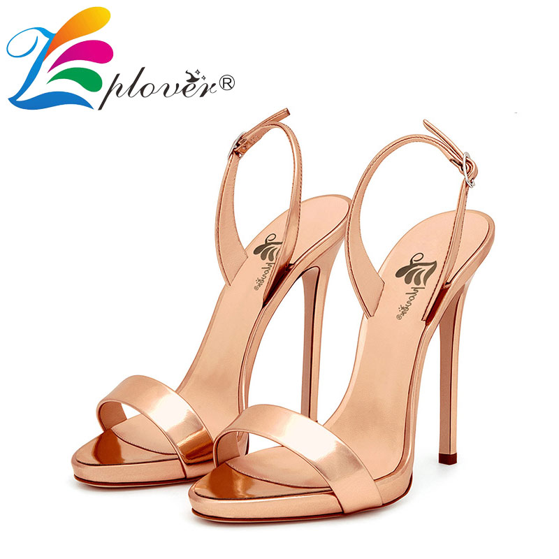 women sandals extreme high heels gold sandalias shoes woman sandalia feminina summer fashion buckle thin heels zapatos mujer women shoes sexy feather thin heels sandals fashion super high 11cm women sandals party shoes high heels sandalias mujer fashion