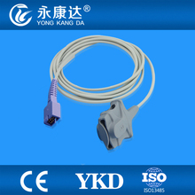 Welch Allyn 53NTP oxiamx  Adult Soft Tip spo2 sensor, DB9pins, 3m