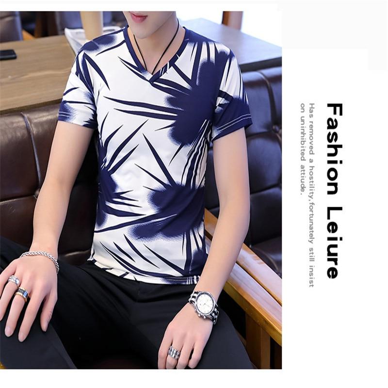 New summer fashion casual men's round collar men's sleeveless undershirt college style 5