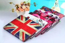 9.7″for ipad 3 2 New Arrive 360 Rotating Flower Butterfly Flip Stand PU Leather Case Cover For Apple ipad 2 3 ipad 4 Tablet Case