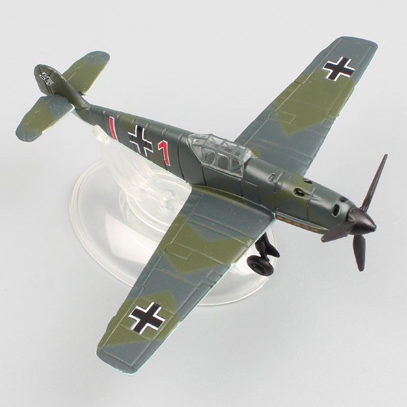 1 100 scale joycity World War II WW2 air force fighter Messerschmitt Bf 109 E1 plane Airplane diecast model Toy display adults kazi 82006 world war classical german air force model military building blocks educational toy fw190 fighter plane for kids