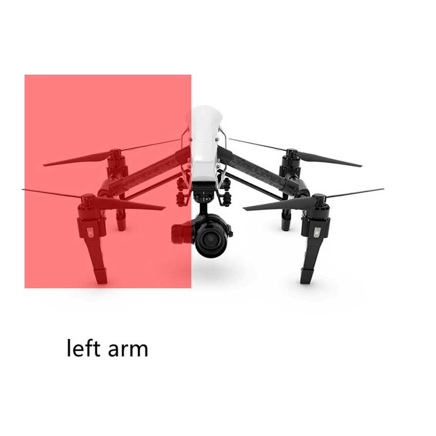 DJI Inspire 1 left /right arm repair parts for DJI Inspire 1 Accessories dji inspire 2 zenmuse x4s