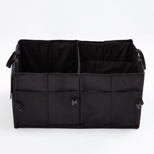 Image 5 - O SHI CAR Collapsible Trunk Cargo Organizer Best for SUV/Vans/Cars/Trucks.Premium Car Fold Storage Container car Separation box