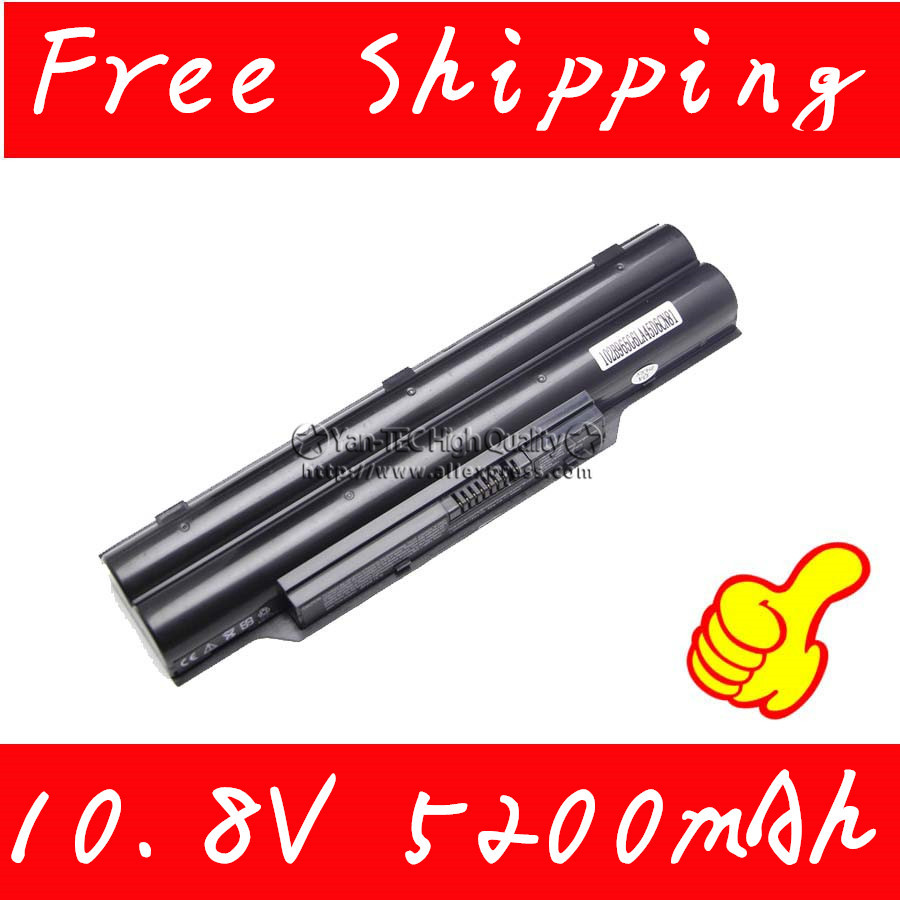 10.8V 5200mAh Laptop Battery For fujitsu lifebook a530 a531 ah530 ah531 lh52/c lh520 lh530 ph521 CP477891 Free shipping new us keyboard for fujitsu lifebook ah530 ah531 nh751 black english laptop keyboard