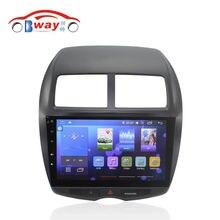 Бесплатная доставка 10.2 «автомобильный gps для Mitsubishi ASX 2010-2012 Cpu: Quadcore Android 5.1 автомобильный Радиоприемник с 1 Г RAM, 16 Г iNand, рулевое колесо