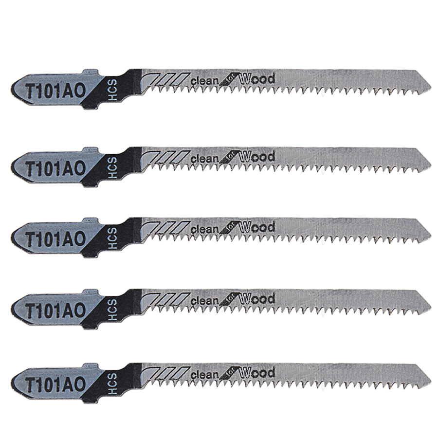 5PCS Saw Blades T101AO Clean Cutting For Wood PVC Fibreboard 77mm Reciprocating Saw Blade Power Tools
