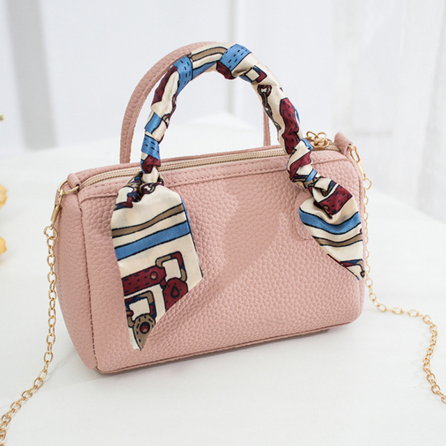 Women's Multicolor Leather Pillow Shaped Zipper Crossbody Bag