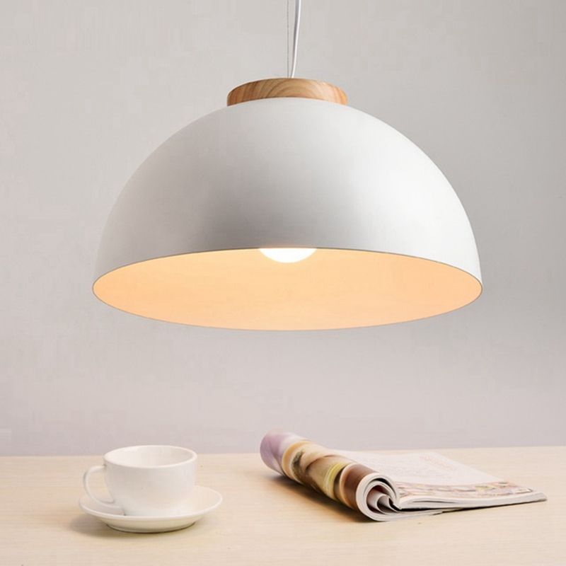LukLoy Modern Wooden Round LED Pendant Lights Metal Lampshade Pendant Lamps Dining Living Room Drop Hanging Suspension LightingLukLoy Modern Wooden Round LED Pendant Lights Metal Lampshade Pendant Lamps Dining Living Room Drop Hanging Suspension Lighting