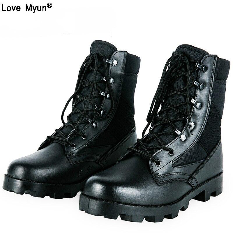 2019 Hiver Bottes Tactiques Hommes Respirant Camouflage Armée Désert chaussures de sécurité bottes de combat militaires etg78