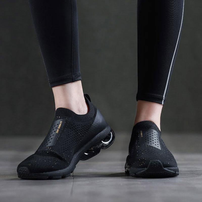 Li-ning femmes bulle ARC chaussures de course LI-NING ARC coussin baskets Mono fil respirant doublure chaussures de Sport ARHN034 XYP690 - 2
