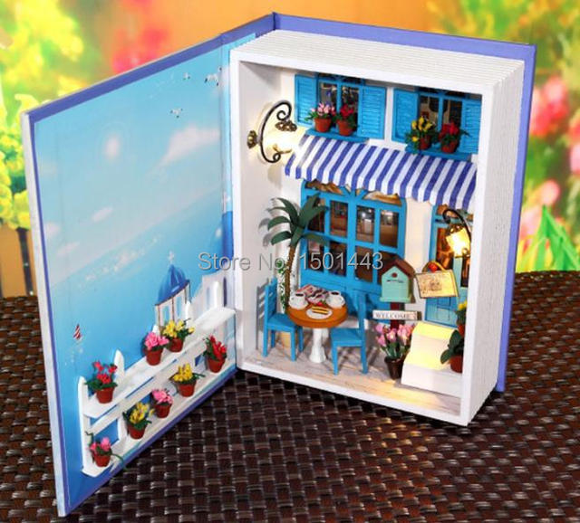 Mettson, Hello Sunshine Dollhouse, DIY The Portable House Set With LED  Flash,Sound
