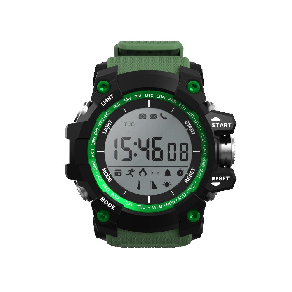 NO 1 F2 IP68 Waterproof Smart Watch Bluetooth Fitness Tracker Reminder Pedometer Calorie Sport Health Wearable