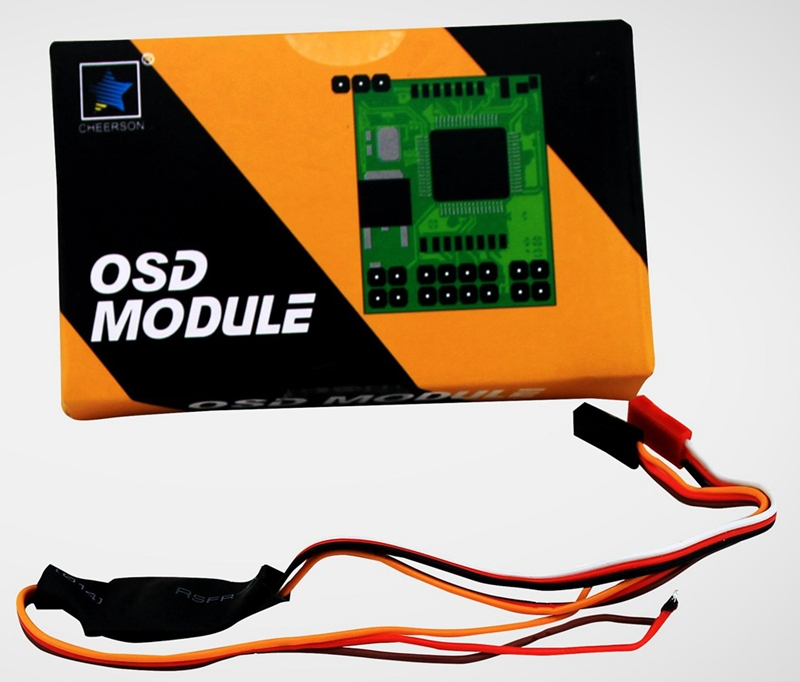 OSD Module Display GPS Quantity Flight Speed Location For Cheerson CX 20 CX20 Auto-Pathfinder RC Quadcopter CX-20 cheerson cx20 cx 20 cx 20 2 4g rc quadcopter 4 axis open source version auto pathfinder helicopter ufo support fpv