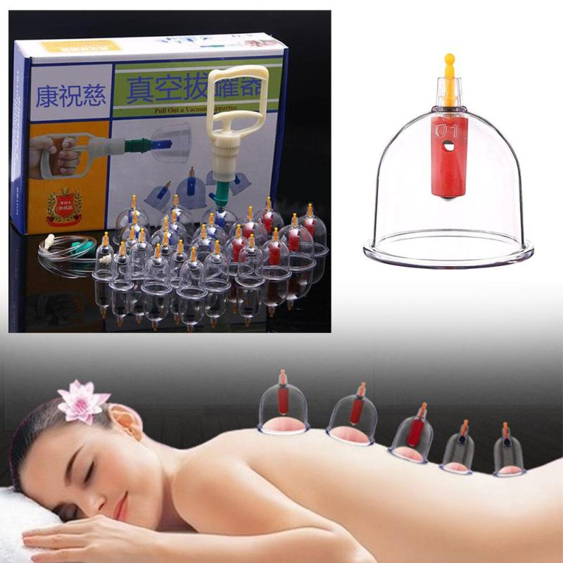 24 cans for Massage Vacuum Cupping Medicine Therapy Suction Cellulite Body Massage Silicone Cupping Set L4 ovw2 12 2mhc 1200p r 38 mm solid shaft rotary encoder diameter 6 mm diameter of axle new in box free shipping