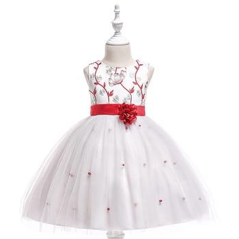 2018 Flower Girl Dresses For Weddings Ball Gown Cap Sleeves Tulle Bow Lace Long First Communion Dresses For Little Girls чай зеленый kwinst китайский 100 пакетиков