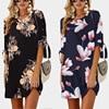 Summer Blue Pearl Chiffon Dress 1