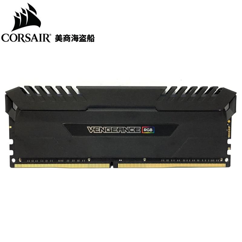 CORSAIR Vengeance ROG 8GB 8G DDR4 PC4 3000MHZ 3000 PC Memory RAM Memoria Module Computer Desktop RAM corsair vengeance lpx 8gb 8g ddr4 pc4 3000mhz pc computer desktop ram ecc memory 8gb ram