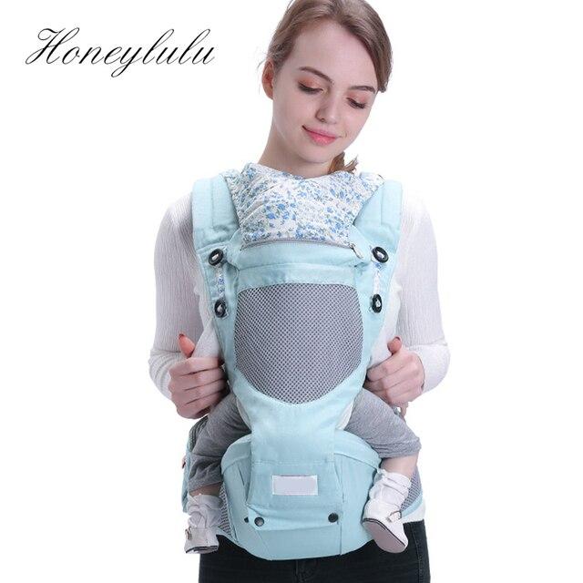 Honeylulu 3D Honeycomb Mesh Windproof Hat Baby Carrier Ergonomic Sling For Newborns Kangaroo For Children Hipsit Ergoryukzak