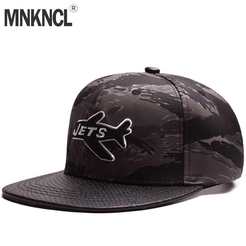 MNKNCL alta calidad Snapback Cap aviones marca bordado gorra de béisbol ala  plana moda Hip Hop 975a85a5b6a