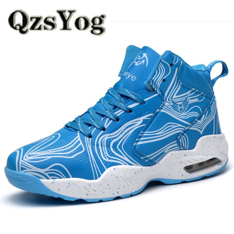 QzsYog Grande Taille 39 45 Sport Basket Ball Chaus