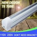 4 Pçs/lote Tubo LED T8 Integrado 10 W 600mm 110 V 220 V 85-265 V lâmpada do bulbo Tampa transparente Tampa Leitosa Frete Grátis Branco/Warmwhite