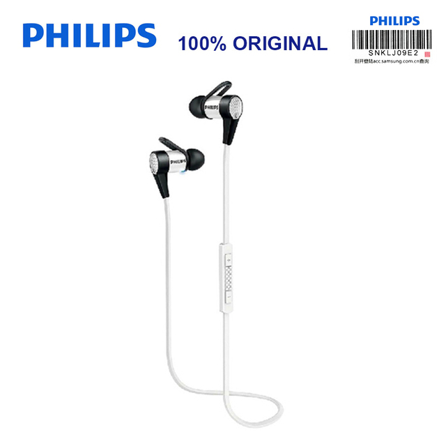 df7c22f479f Philips SHB5800 Wireless Earphones with Micro USB NFC Function Ear Hook for  Iphone X Iphone 8 8Plus Official Certification