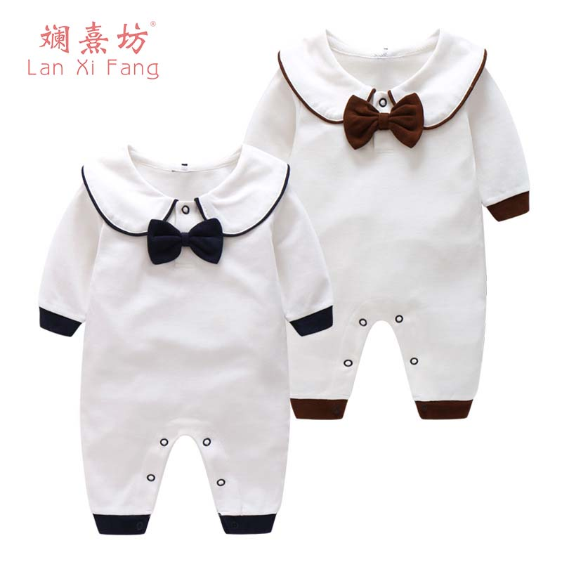 2018 New Spring Cartoon Baby Rompers Cotton Infantil Girls Boys Clothes Long Sleeve Romper Baby Jumpsuit Newborn Baby Clothing baby rompers cotton long sleeve 0 24m baby clothing for newborn baby captain clothes boys clothes ropa bebes jumpsuit custume