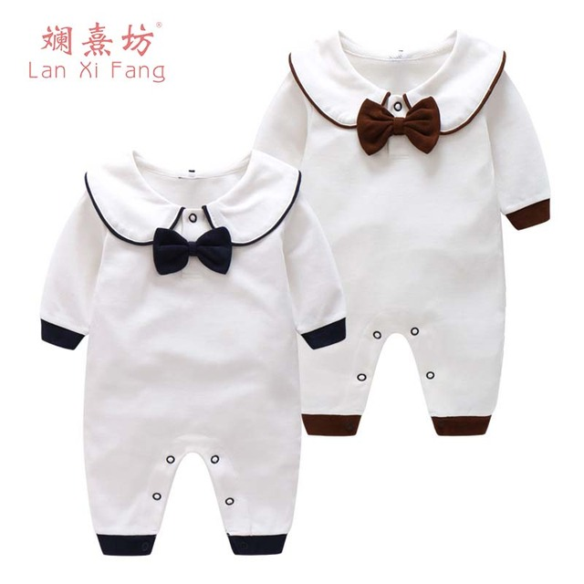 02125c9cca24 2018 New Spring Cartoon Baby Rompers Cotton Infantil Girls Boys ...