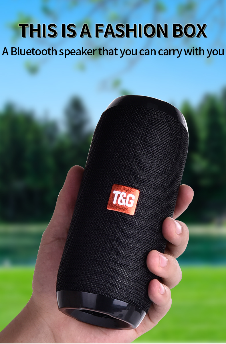 TG117 Bluetooth Waterproof Speaker For Outdoors With TF Card Support FM Radio And Aux Input 14