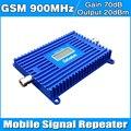 Ganho De alta Potência 70dB 900 MHZ GSM Sinal de Telefone Celular Impulsionador Repetidor GSM 900 MHz Amplificador Celular com Display LCD