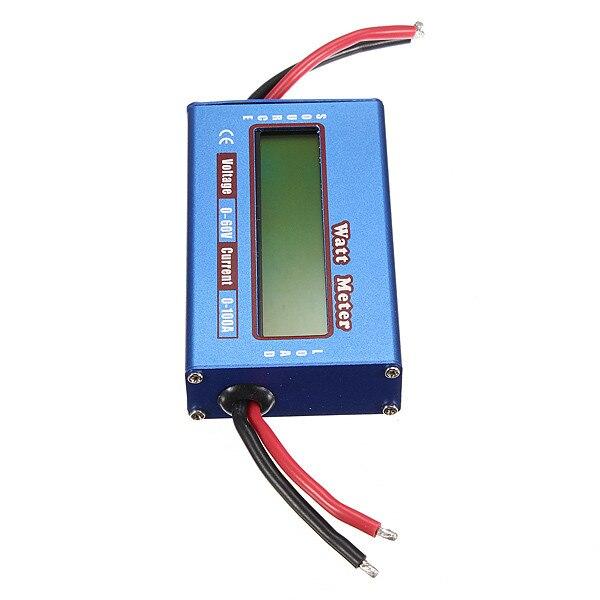 Новый цифровой жк-дисплей для DC 60 В / 100A баланс напряжение RC аккумулятор анализатор мощности