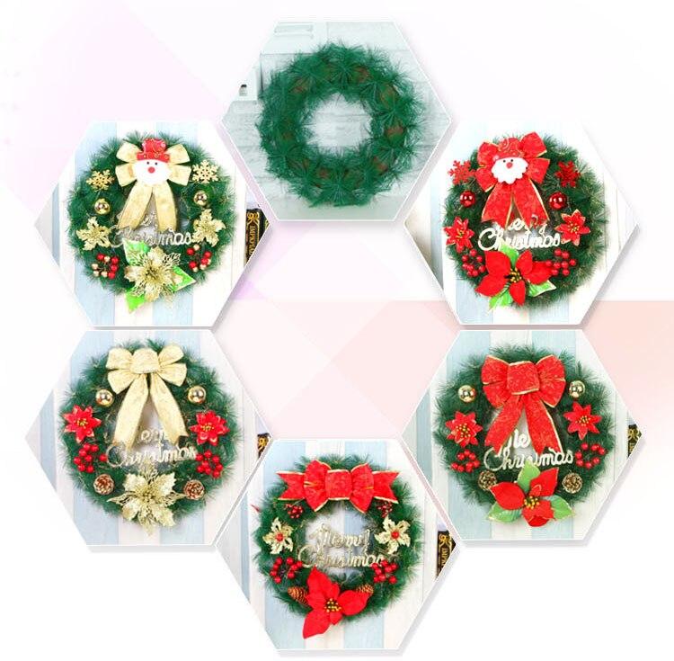 Versierd Kerstkrans Promotie-Winkel Voor Promoties