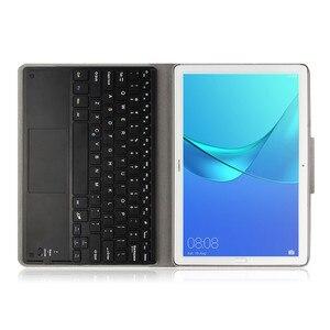 Image 3 - Coque avec clavier Bluetooth en cuir pour Huawei MediaPad M5 Pro, 10.8 pouces, CMR W09/AL09/W19, coque pour Huawei M5 10.8