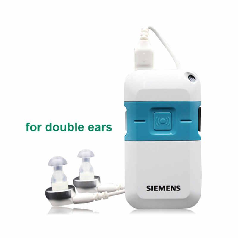 Siemens Digital bolsillo audífono Pockettio DMP para pérdida moderada a grave amplificadores de sonido Mini dispositivo auditivo venta