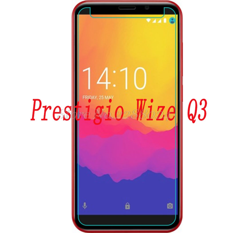 Smartphone 9H Tempered Glass for Prestigio Wize Q3 GLASS  Explosion-proof Protective Film Screen Protector cover phone