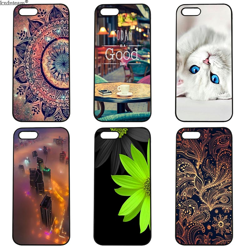 Leisure and Beautiful Days Mobile Phone Case Hard Cover Fitted for iphone 8 7 6 6S Plus X 5S 5C 5 SE 4 4S iPod Touch 4 5 6 Shell