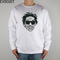 Wiz Khalifa Hip Hop Music men Sweatshirts Thick Combed Cotton