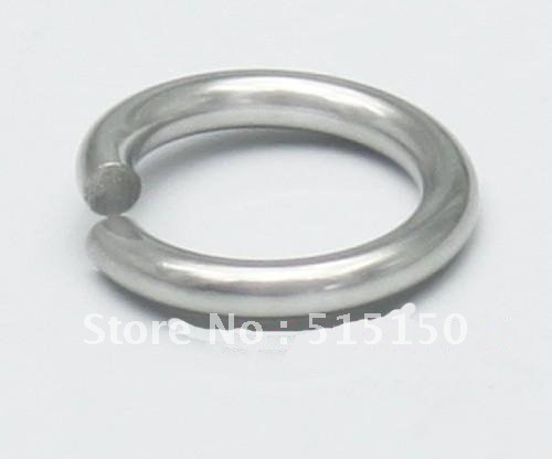 1*5mm Lot Of 1000pcs Strong 316l Stainless Steel Jump Ring Suit For Diy Necklace Jewelry & Accessories