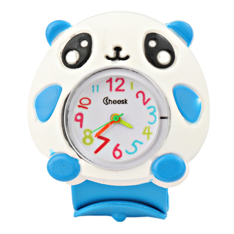 Kids Children Watches Puzzle Toys Cartoon Animal  Soft Silicone Quartz Cute Watch For Boy & Girl Student Wristwatch
