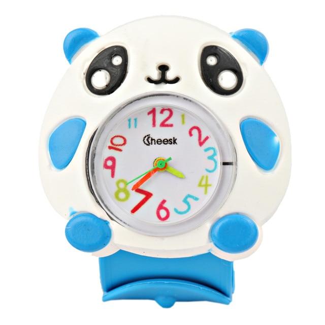 Kids Children Watches Puzzle Toys Cartoon Animal Soft Silicone Quartz Cute Watch
