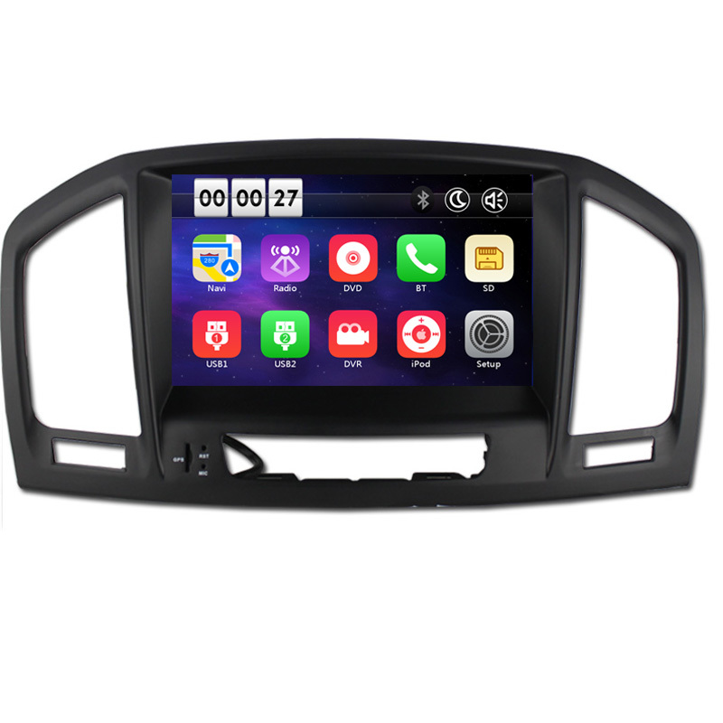 8 Inch 1080P 1024*600 Car DVD Player GPS Navigation For