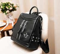 86324f05b467 Новая женская рюкзак сумка Для женщин простой путешествовать овчины  небольшой рюкзак мешок Dos