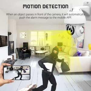 Image 5 - ANGOOD V380 Outdoor IP66 Smart IP Kamera HD 1080P 2MP PTZ Sicherheit System Unterstützung Onvif Tf karte Wolke Lagerung speed Dome Monitor