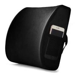 Дизайнер Высокое качество чистая ткань автомобиля сзади подушки массаж талии дышащие подушки в автомобиль мягкий памяти хлопок