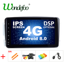 "8"" IPS DSP Android 8.0 4G RAM CAR DVD player For Benz W209 W203 W168 W463 W163 M ML Viano W639 Vito Vaneo E-W210 GPS multimedia(China)"