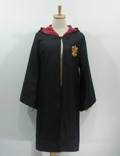 Cosplay Costume Robe Cloak with Tie Scarf Ravenclaw Gryffindor Hufflepuff Slytherin for Adult Kids