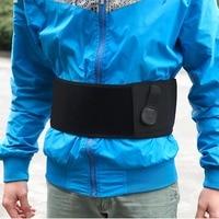 Portable Man Woman Anti Theft Safe Hidden Belt Close Fitting Security Waistband Waist Pack Black Well