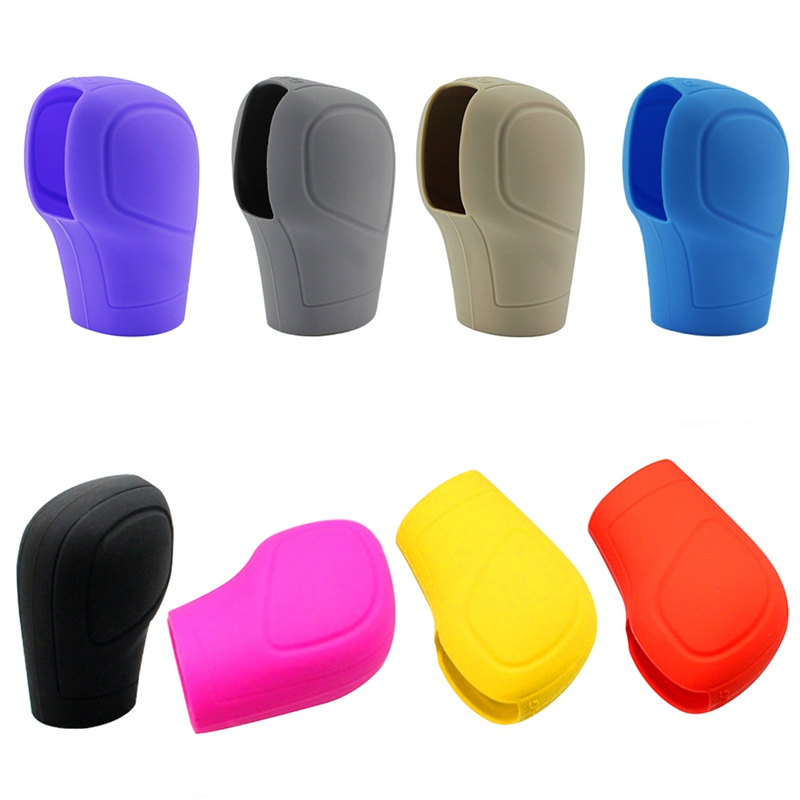 Universal Silicone Case Gear Shift Collars Cover Automatic Gear Cover For Universal Decoration Protection Auto Accessories in Gear Shift Collars from Automobiles Motorcycles